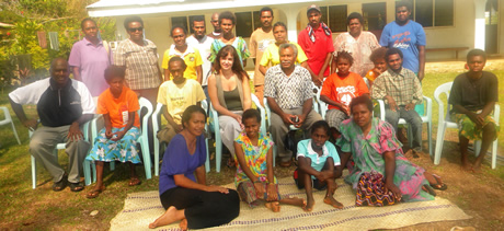 First Sanma Disability Training on Fabric Printing