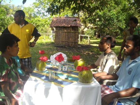 Accredited training in Malampa in 2011