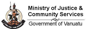 Ministry of Justice and Community Services (MJCS) Logo