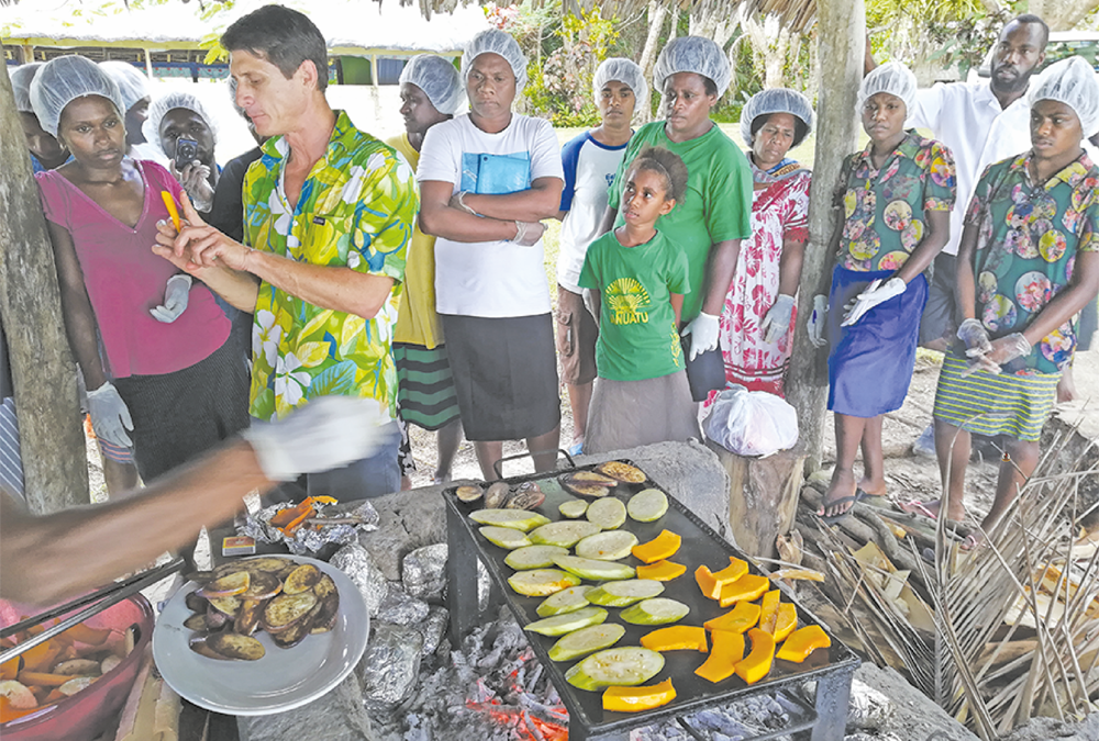 Agritourism in action in Santo through 'Farm to Table' workshops