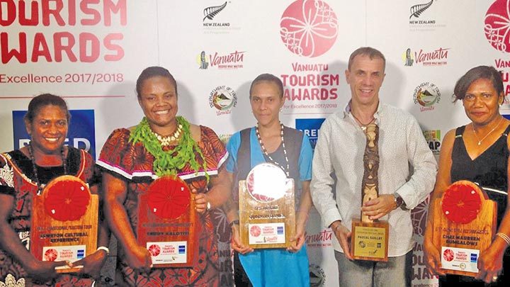 Tourism awards show skills development essential for private sector