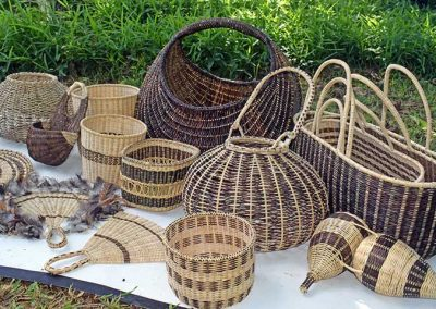 Woven Baskets from Vetimbosso village, Torba province