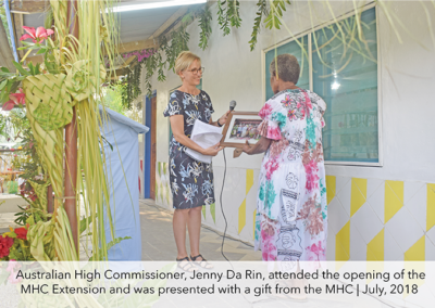 Malampa Handicraft Centre Extension complete