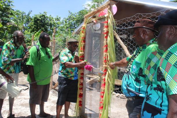 Integrated backyard farming Introduced on Mota Lava
