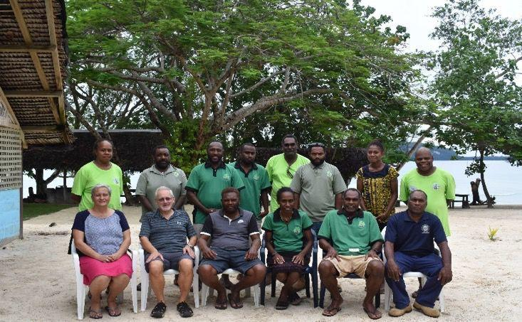 Vanuatu agricultural extension proffessional skills development workshop