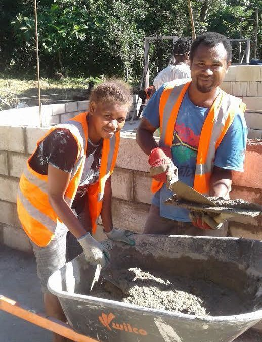 Ambae evacuees gain construction skills