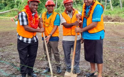 Groundbreaking of Area 1 Council house marks history for South Santo