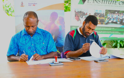Historic VSP, EIT MOU For Provincial ICT Trainings