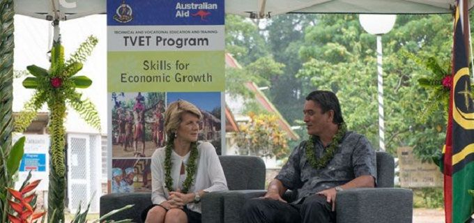 Australian Minister for Foreign Affairs, Hon. Julie Bishop, launches new phase