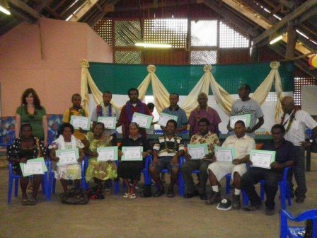 Sanma TVET Centre activities for July & August 2011