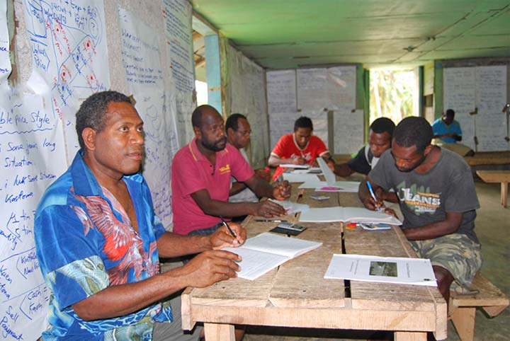 One third of young Vanuatu adults are illiterate
