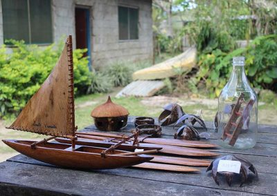 woodwork and leatherwork