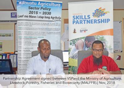 Strengthening the linkage between Skills Partnership and MALFFB
