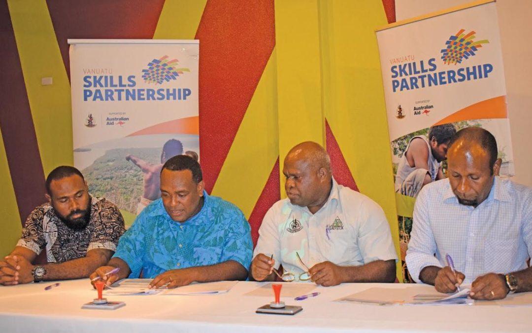 More departments pledge support to Vanuatu Skills Partnership