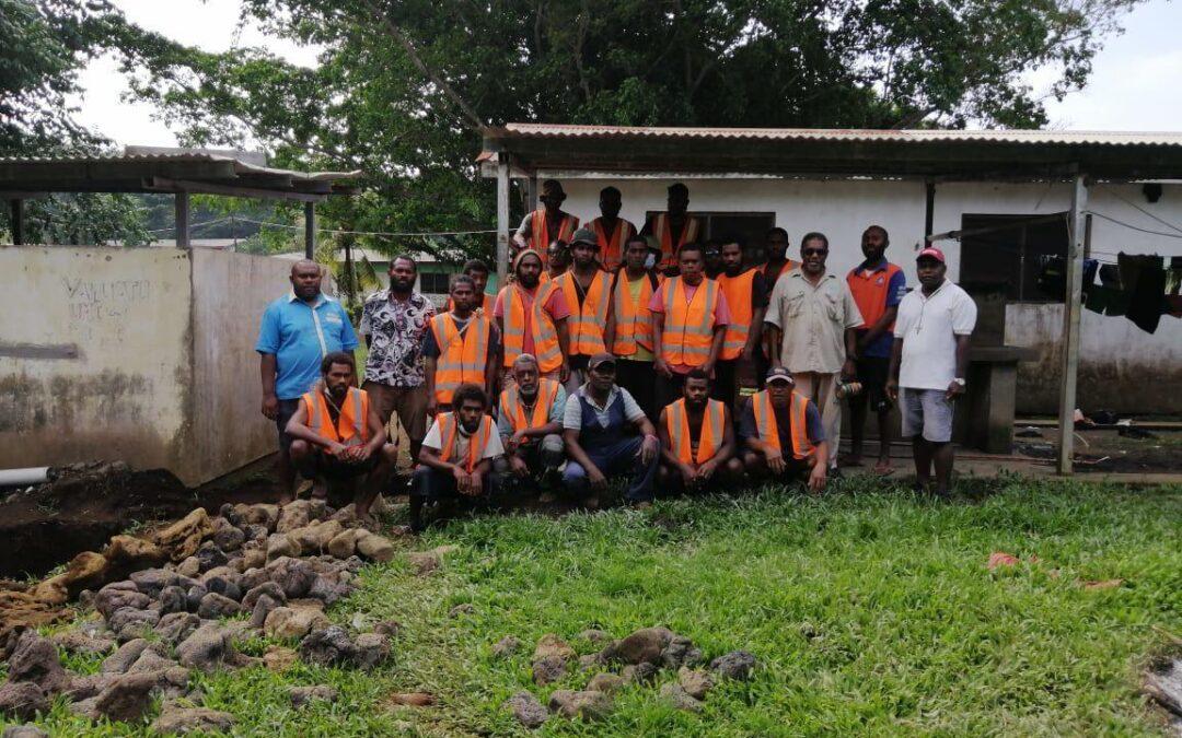 PENAMA WASH Technicians doing Certificate 2 in plumbing